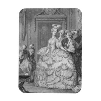 The Queen's Lady-in-Waiting, engraved by P.A. Mart Magnet