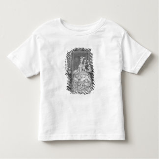 The Queen's Lady-in-Waiting, engraved by P.A. Mart Toddler T-shirt