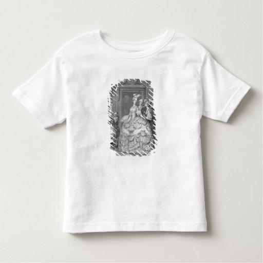 The Queen's Lady-in-Waiting, engraved by P.A. Mart Tee Shirt