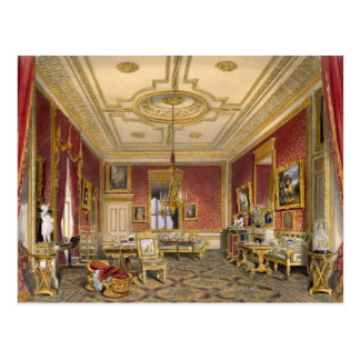The Queen's Private Sitting Room, Windsor Castle, Postcard