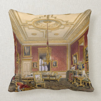 The Queen's Private Sitting Room, Windsor Castle, Throw Pillow