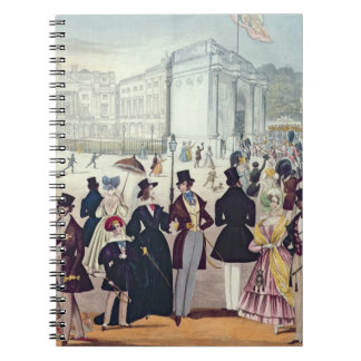 The Queen's Return from the House of Lords, 1839 ( Spiral Note Book
