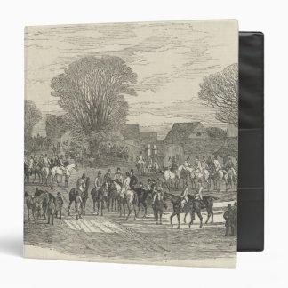 The Queen's Stag Hounds: The Meet, Aylesbury Binder