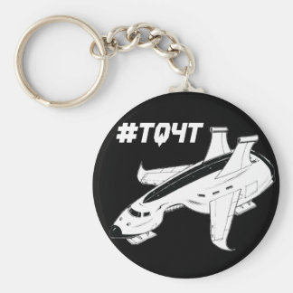 """The Quest for Truth 2.25"""" Button Keychain"""