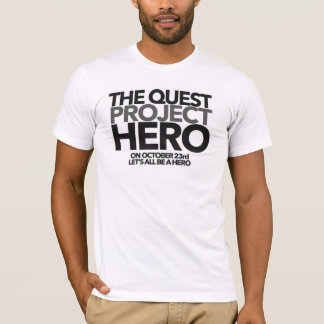 The Quest #PROJECTHERO T-shirt - Men's