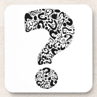 The Question Mark Beverage Coaster