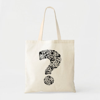 The Question Mark Budget Tote Bag
