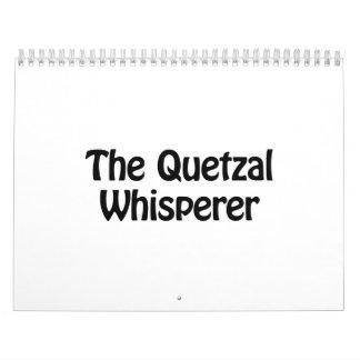 the quetzal whisperer calendar