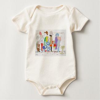 The Queue Baby Bodysuit