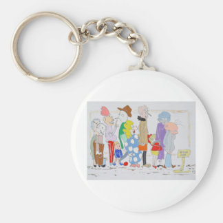 The Queue Keychain