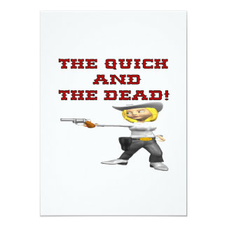 The Quick And The Dead Card