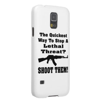 The Quickest Way To Stop A Lethal Threat? Shoot Galaxy S5 Covers