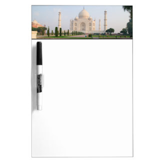 The quiet peaceful Taj Mahal at sunrise one of Dry-Erase Board