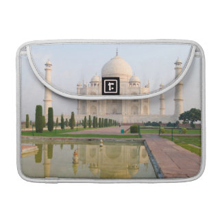The quiet peaceful Taj Mahal at sunrise one of Sleeve For MacBooks