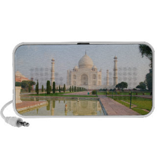 The quiet peaceful Taj Mahal at sunrise one of Speaker