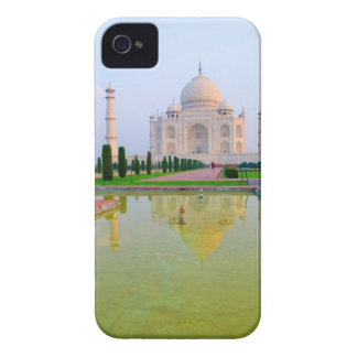 The quiet peaceful World Famous Taj Mahal at iPhone 4 Covers