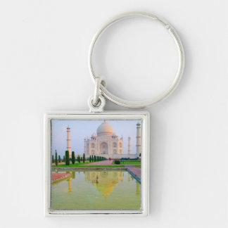 The quiet peaceful World Famous Taj Mahal at Keychain