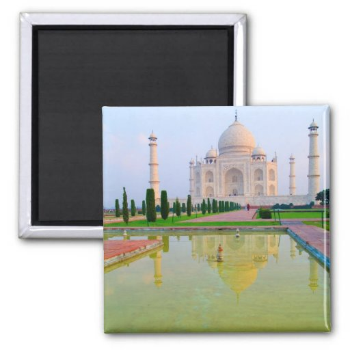 The quiet peaceful World Famous Taj Mahal at Magnets