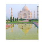 The quiet peaceful World Famous Taj Mahal at Scratch Pads
