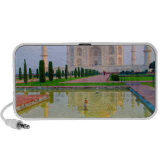 The quiet peaceful World Famous Taj Mahal at Notebook Speakers