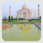 The quiet peaceful World Famous Taj Mahal at Sticker
