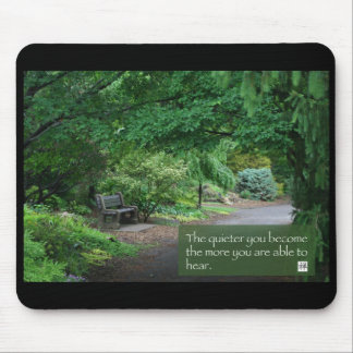 The Quieter...(mouse pad)