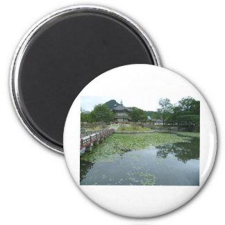 The Quietness of Asia 2 Inch Round Magnet