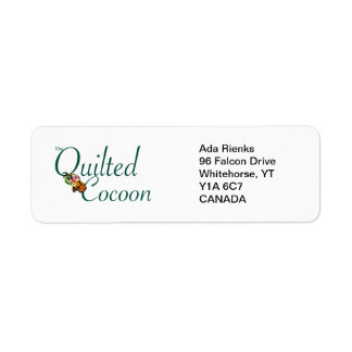 The Quilted Cocoon Address Label