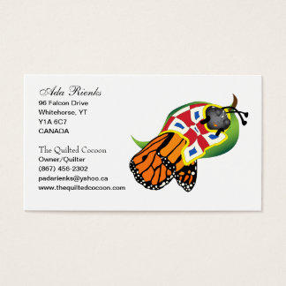 The Quilted Cocoon Business Card