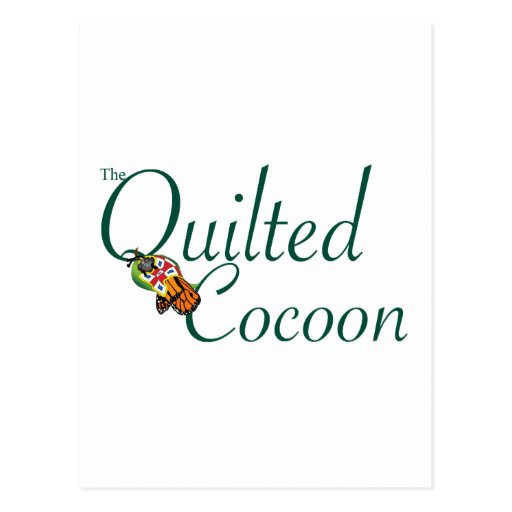 The Quilted Cocoon Logo Post Cards