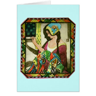 The Quilter Greeting Card