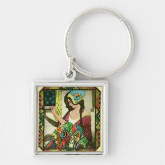 The Quilter Key Chain