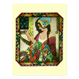 The Quilter Postcard