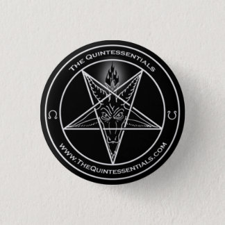 "The Quintessentials ""Baphomet"" Button"