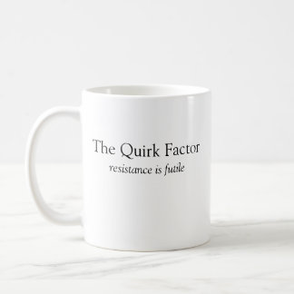 The Quirk Factor righty mug