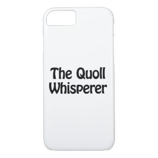 the quoll whisperer iPhone 8/7 case