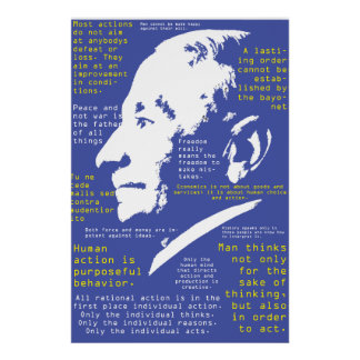 The Quotable Mises Poster
