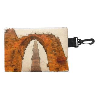 The Qutub Minar in Delhi Accessory Bag