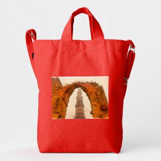 The Qutub Minar in Delhi Duck Bag