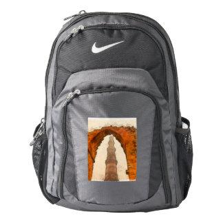 The Qutub Minar in Delhi Nike Backpack