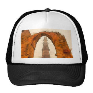 The Qutub Minar in Delhi Trucker Hat