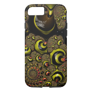 The Rabbit Hole Bumble Bee Yellow Black Fractal iPhone 7 Case