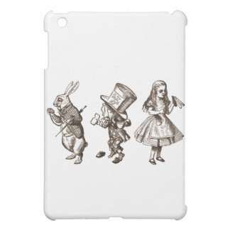 The Rabbit, the Her & Alice from Wonderland Case For The iPad Mini