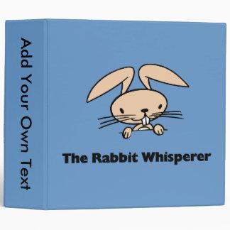 The Rabbit Whisperer Avery Binder Binders