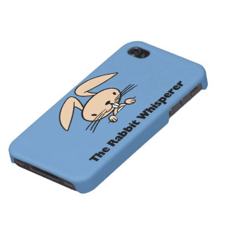 The Rabbit Whisperer Universal Covers For iPhone 4