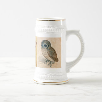 THE RABBIT ( Young Hare ) and Owl Monogram Beer Stein