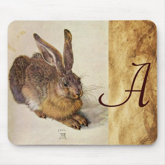 THE RABBIT ( Young Hare ) Mouse Pad
