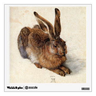 THE RABBIT ( Young Hare ) Wall Sticker