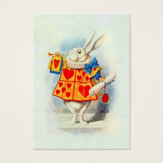 The Rabbitt in Alice in Wonderland ~ Business Card