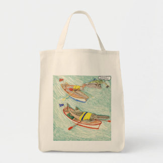 The Race Grocery Tote Bag